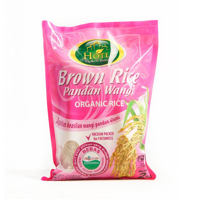 beras hotel brown rice pandan wangi