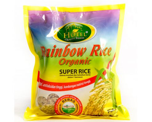 beras hotel rainbown rice organic