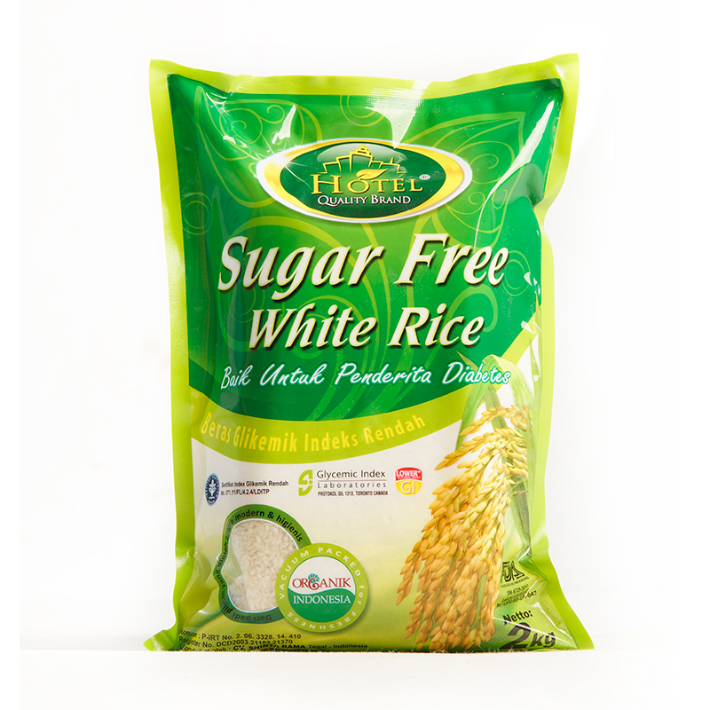 beras hotel sugar free white rice