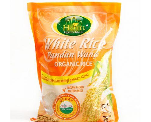 beras hotel white rice pandan wangi